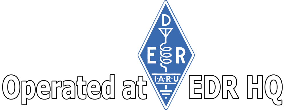 Operated at EDR HQ station